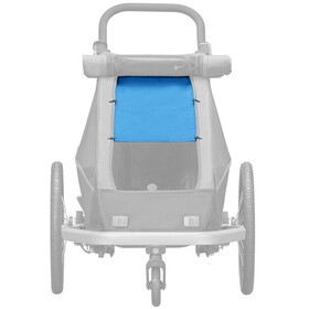 Croozer Aurinkosuoja Kid Plus / Kid for 1 :een , sininen